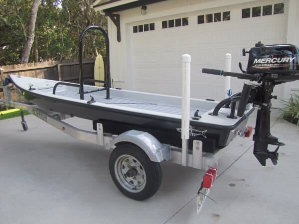 Beavertail Ambush Micro skiff for Sale $4,595 00   Microskiff