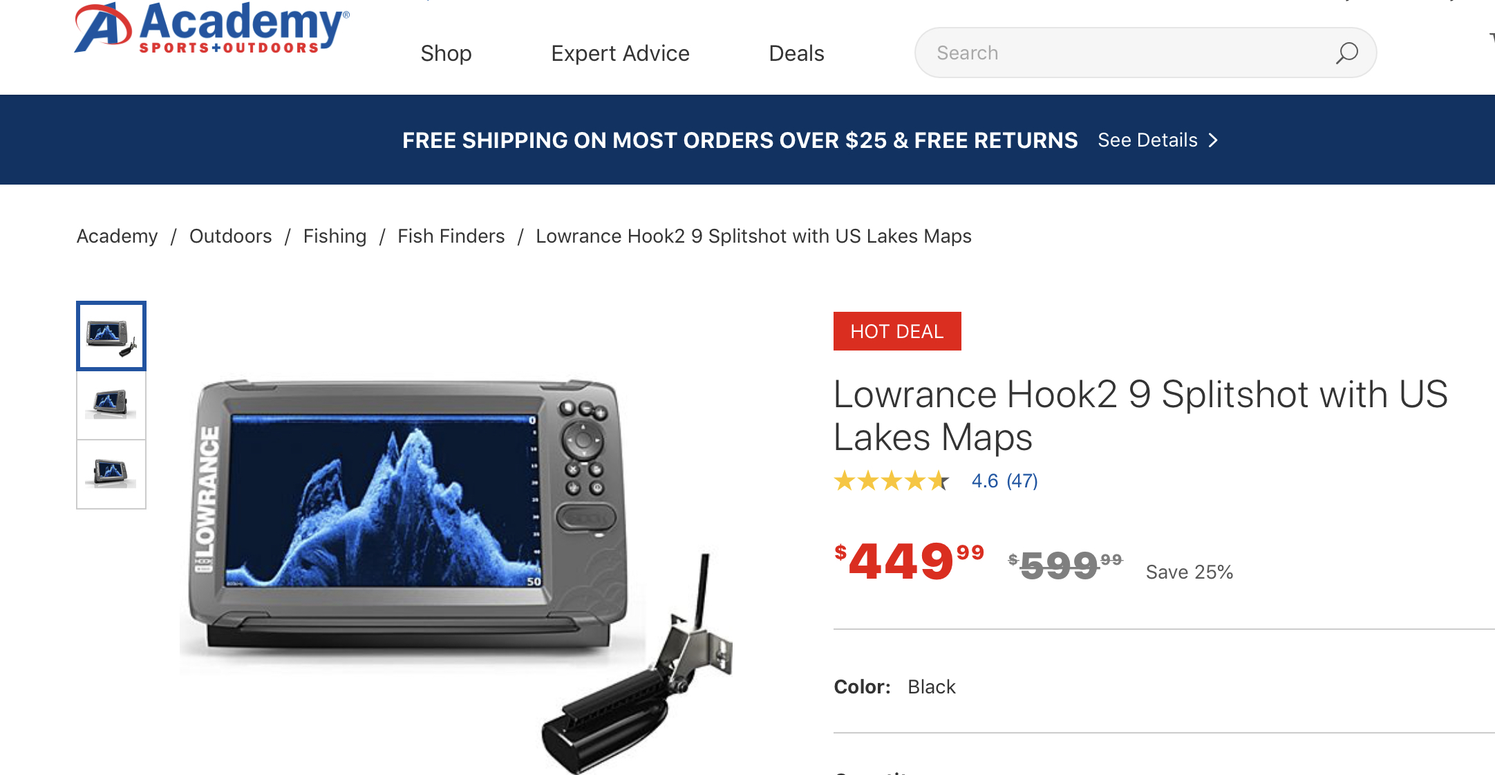 Lowrance Hook 9"