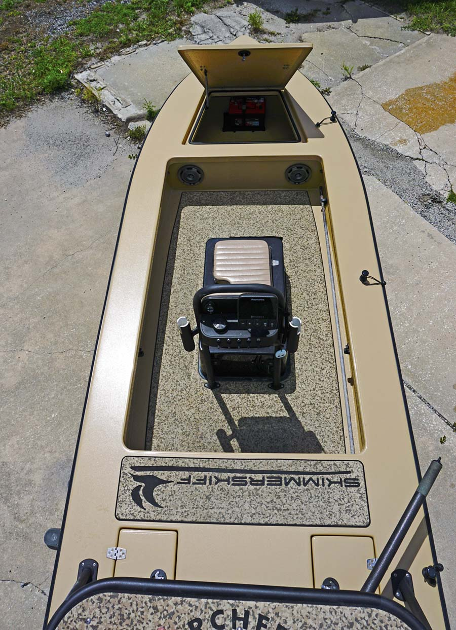 Fully loaded skimmer skiff | Microskiff - Dedicated To The