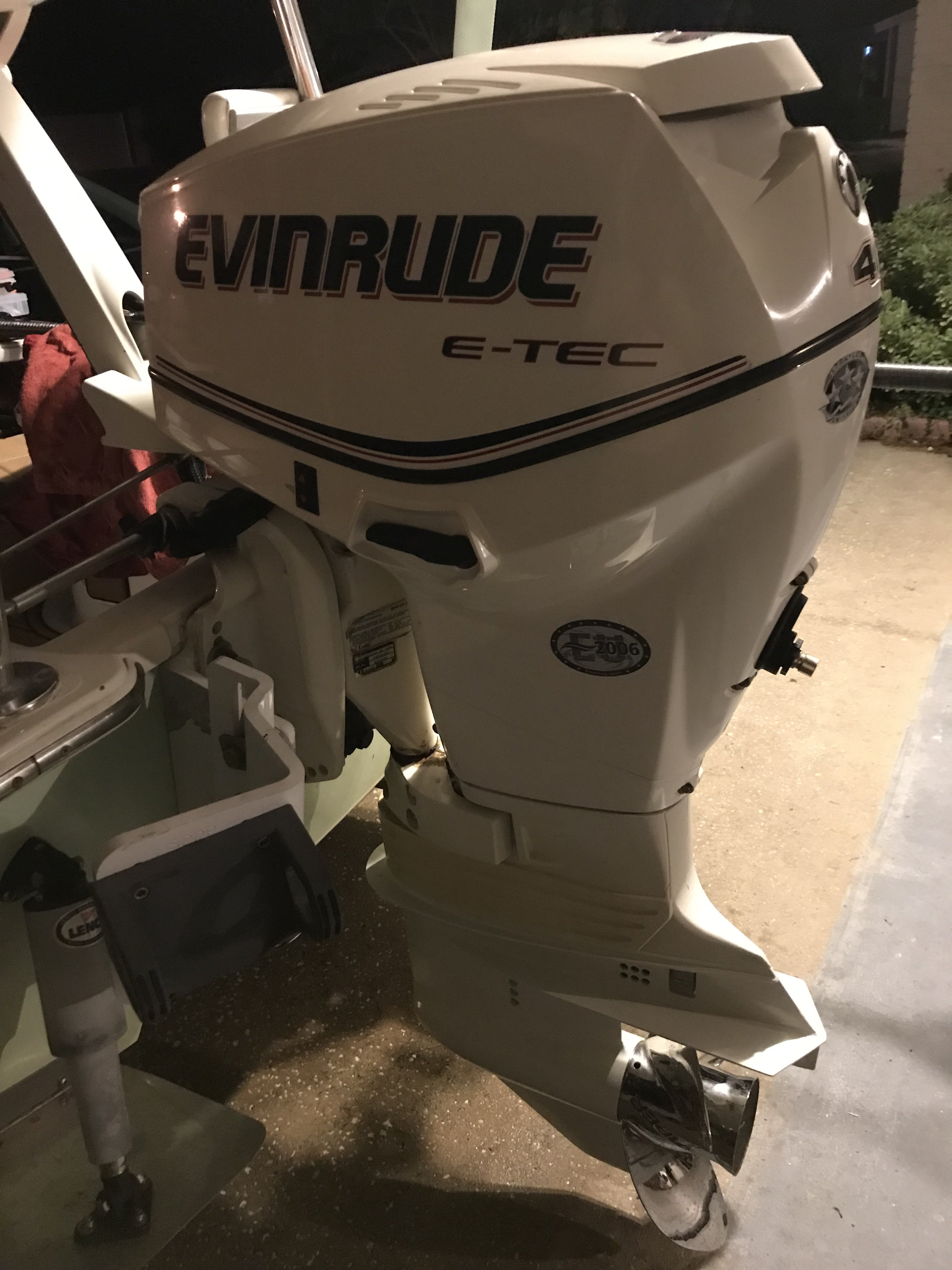 40 HP ETEC Tiller for sale | Microskiff - Dedicated To The