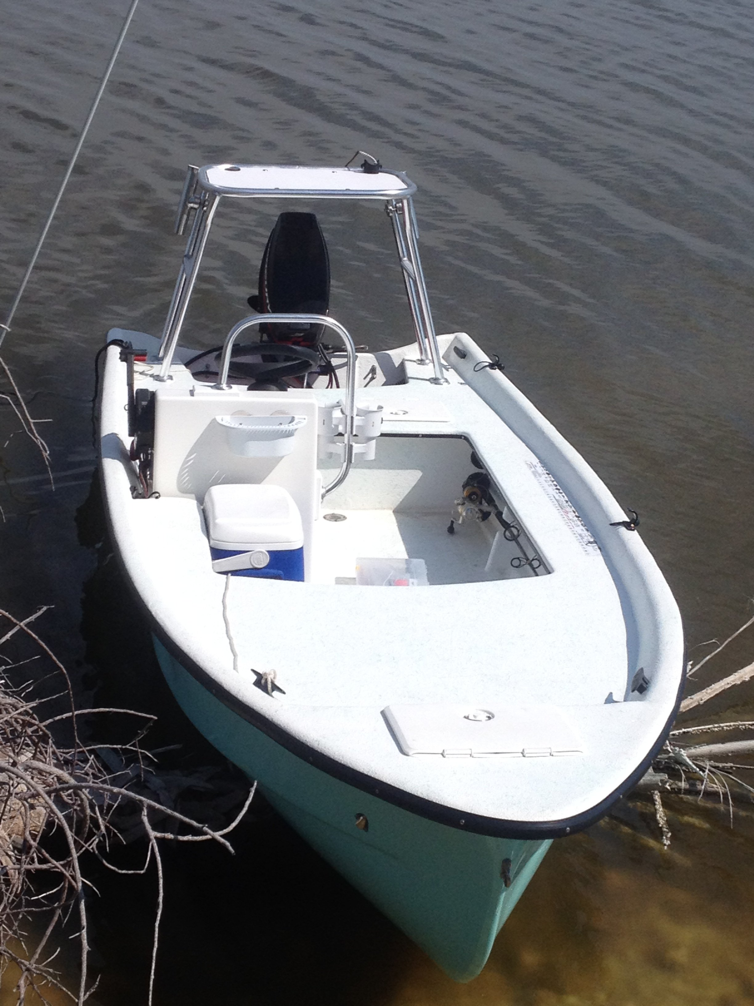 14' Custom Johnson Skiff Conversion | Microskiff - Dedicated