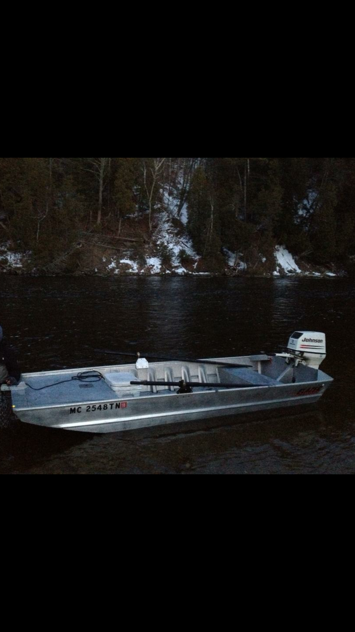 River Boat For The Colorado Microskiff Dedicated To The Smallest