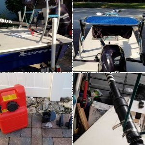 2017 14'6 Skimmer Skiff w/ 30hp Tohatsu Under Warranty