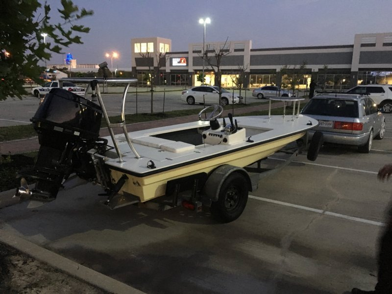 G waterman 16 first ride microskiff dedicated to the for Waterman 16